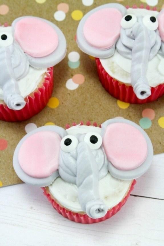 Week 221 Disney Inspired Dumbo Cupcakes from Janine Huldie