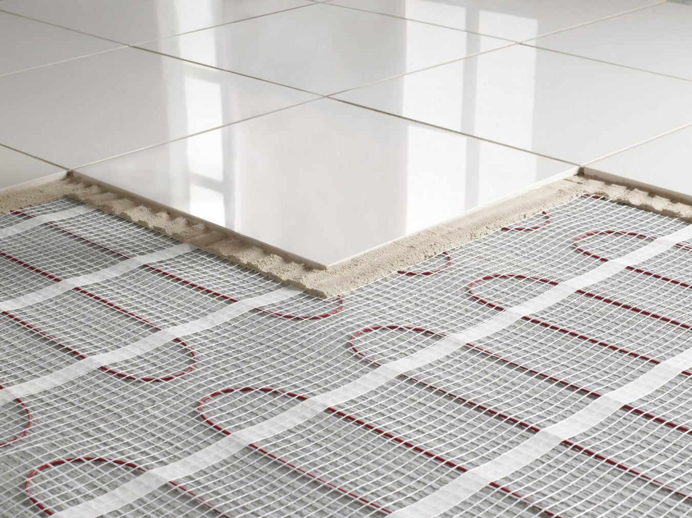 Be smart with your heating - underfloor heating