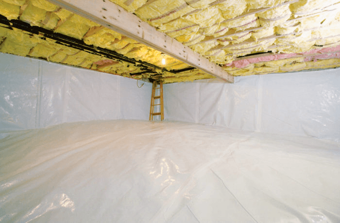 insulate the foundation