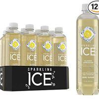 Sparkling Ice Classic Lemonade 17 fluid ounce bottles (Pack of 12)