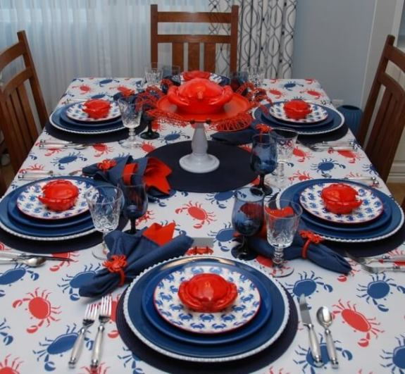 Week 238 A Crabby Table from Whispers of the Heart