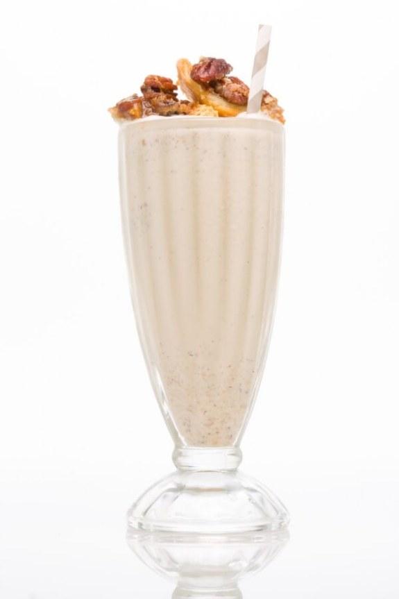 pecan pie bourbon shake from delish
