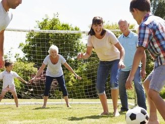 life in a house family game soccer