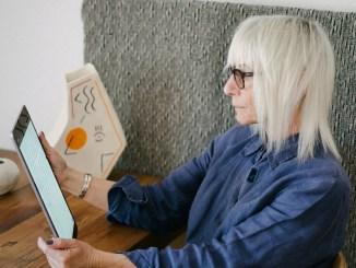 blond older woman coronavirus feature
