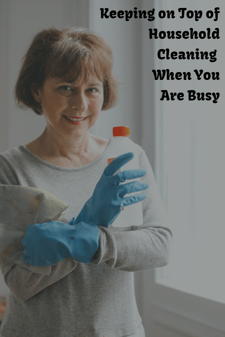 Keeping on Top of Household Cleaning When You're Busy