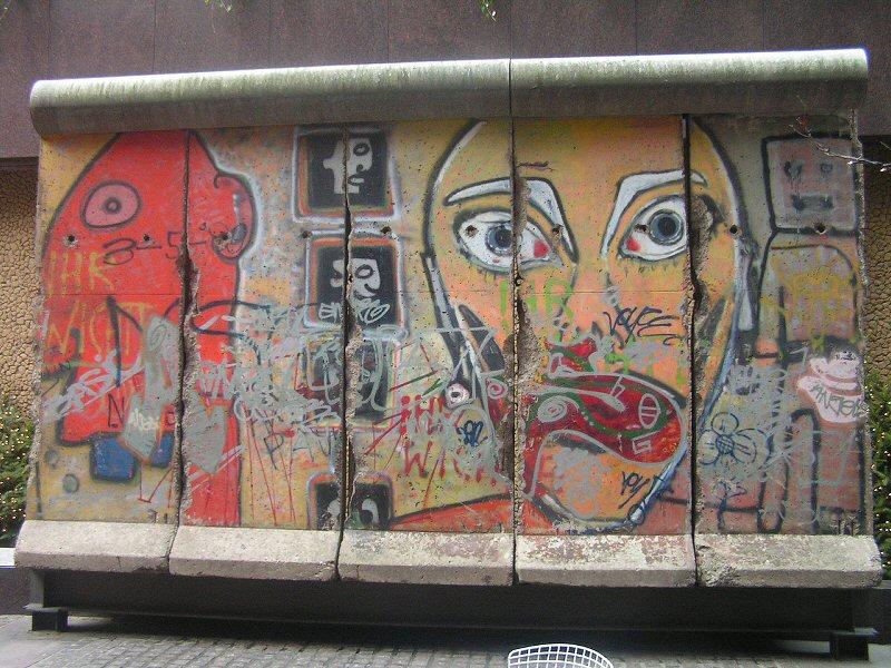 Berlin Wall at 520 Madison Avenue