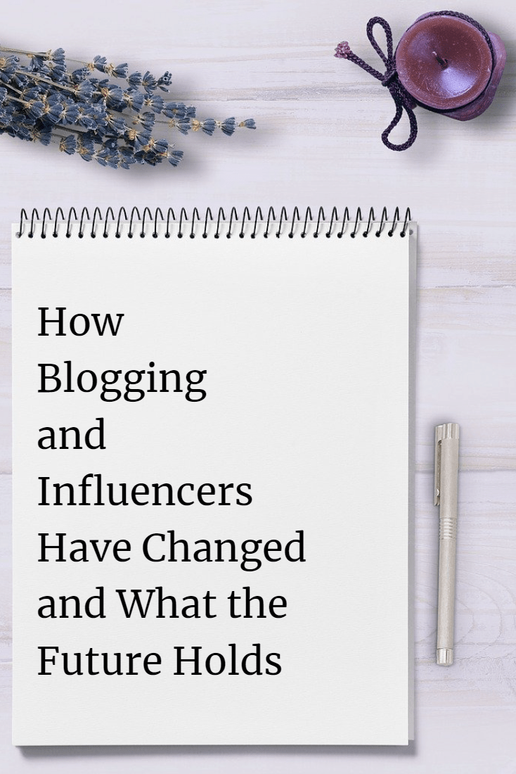 how blogging and influencers have changed