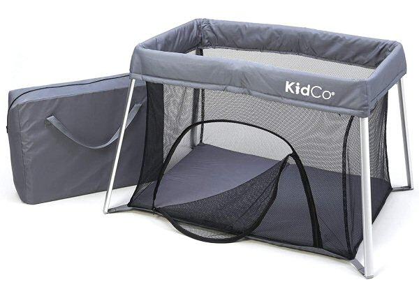 Kidco TravelPod Plus Portable Play Yard Gray
