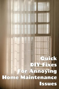 quick diy fixes for home maintenance issues