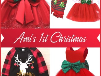 am's first christmas