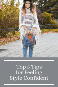 Top 5 Tips for Feeling Style Confident
