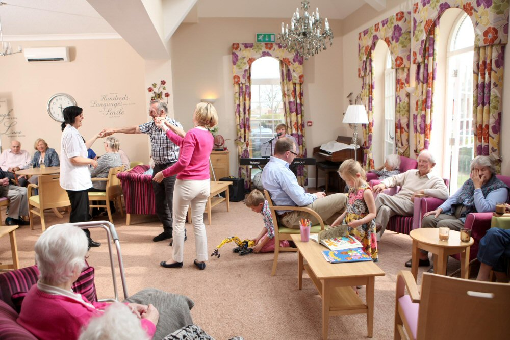 lively care home