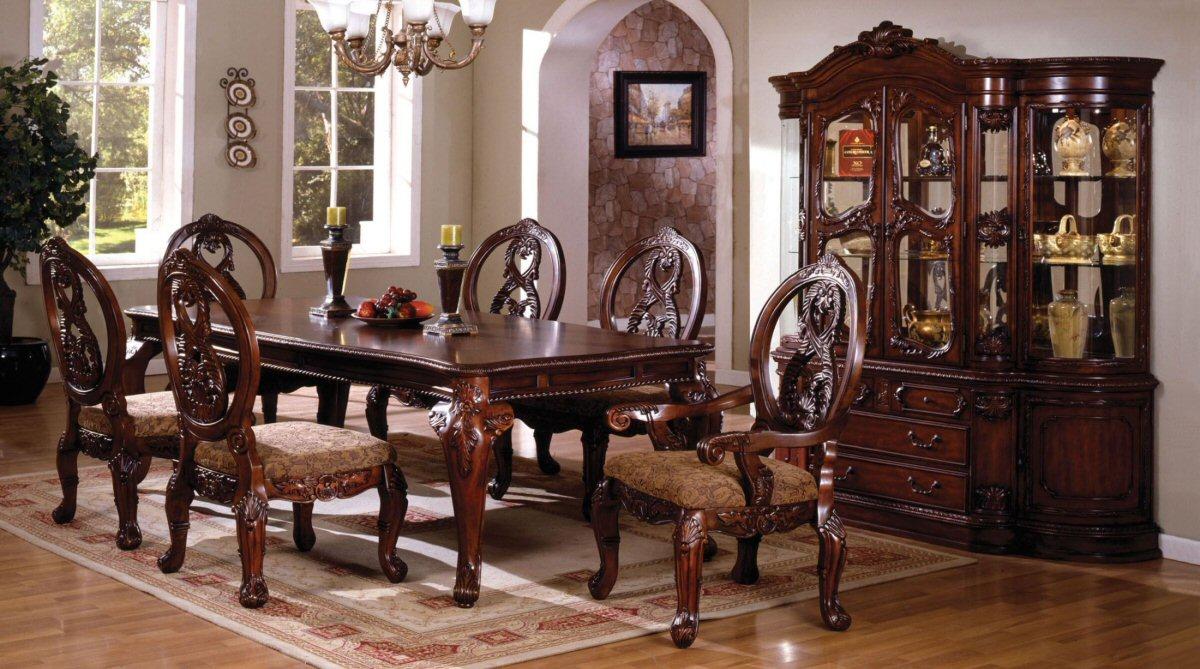 vintage dining room