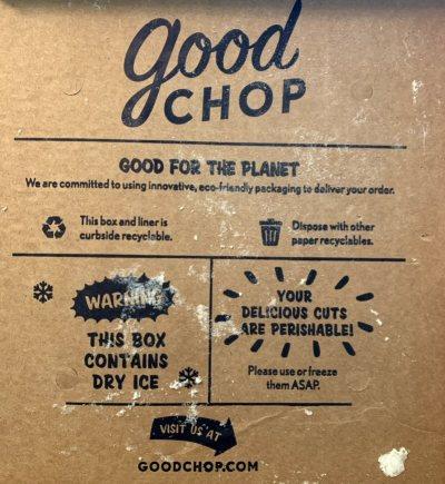 good chop packaging