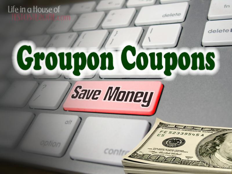 groupon coupons save your family money