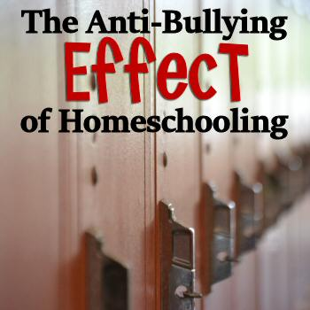 The Anti-Bullying Effect of Homeschooling