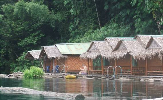 Khao Sok floating Hotel