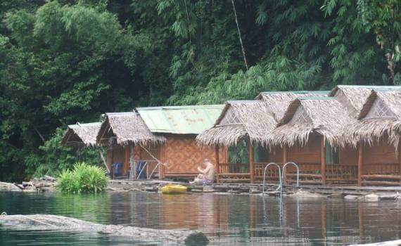 Khao Sok floating Hotel