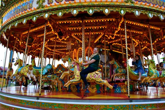 me on merry go round