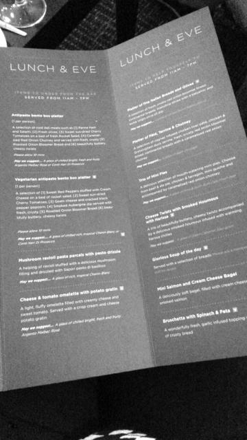 aspire menu