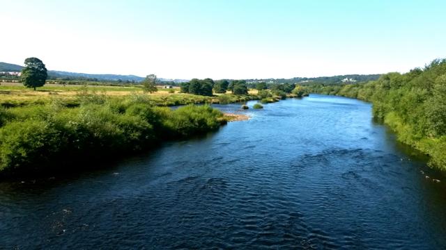 The River Tyne in Corbridge