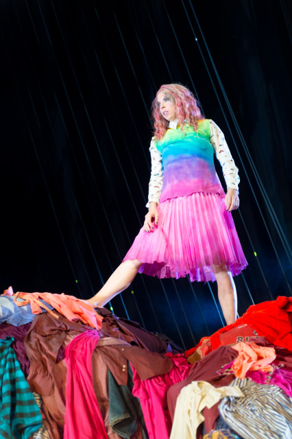 Eileen Walsh as Ariel in The Tempest