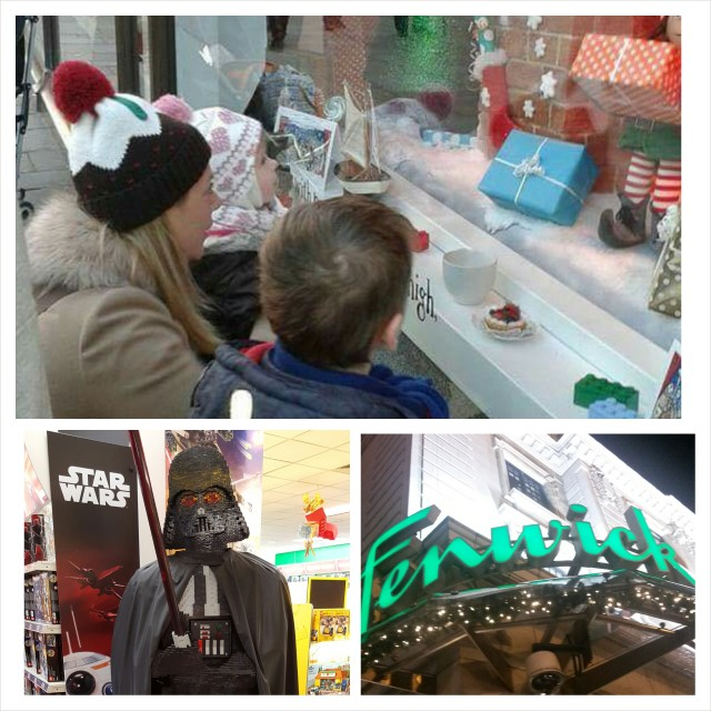 fenwick window toy shop newcastle star wars