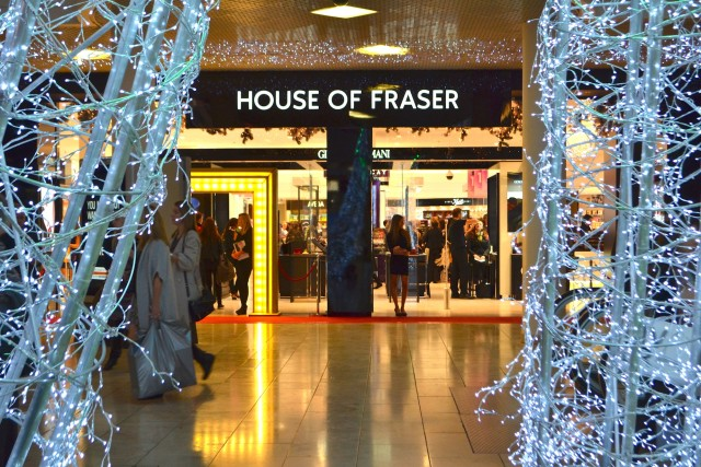 House of Fraser, Metrocentre, Christmas Shopping