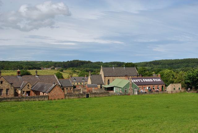 beamish pit village