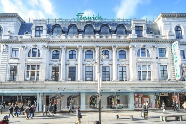 fenwick newcastle store beauty hall