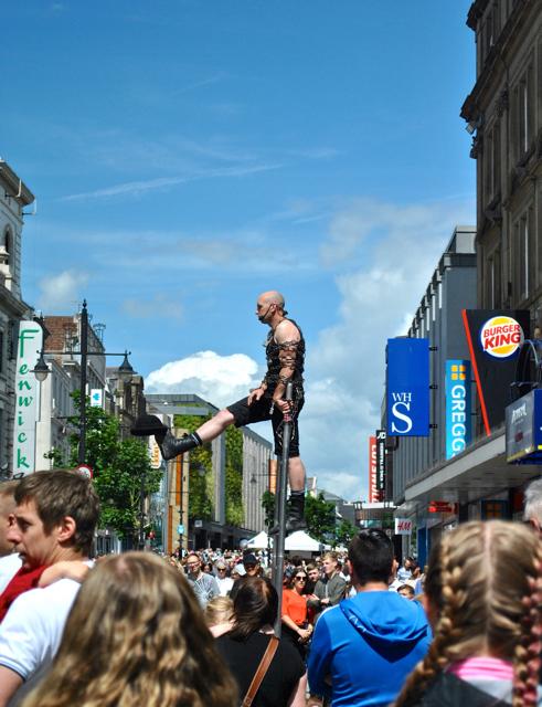 Street Entertainer Newcastle