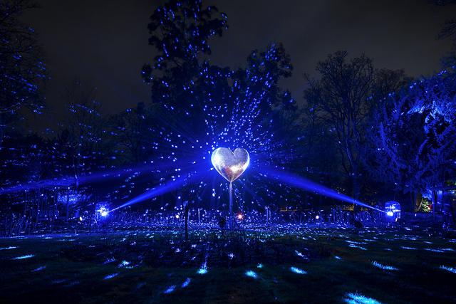 enchanted parks gateshead festive event