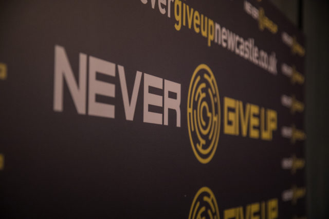review of never give up