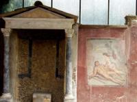 Pompeii's erotic fresco