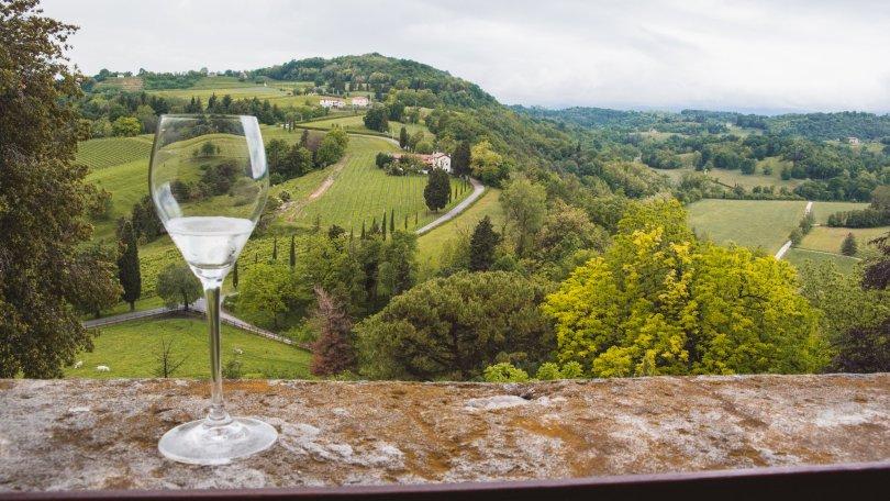 The Prosecco Hills of Conegliano, now a Unesco Heritage Site