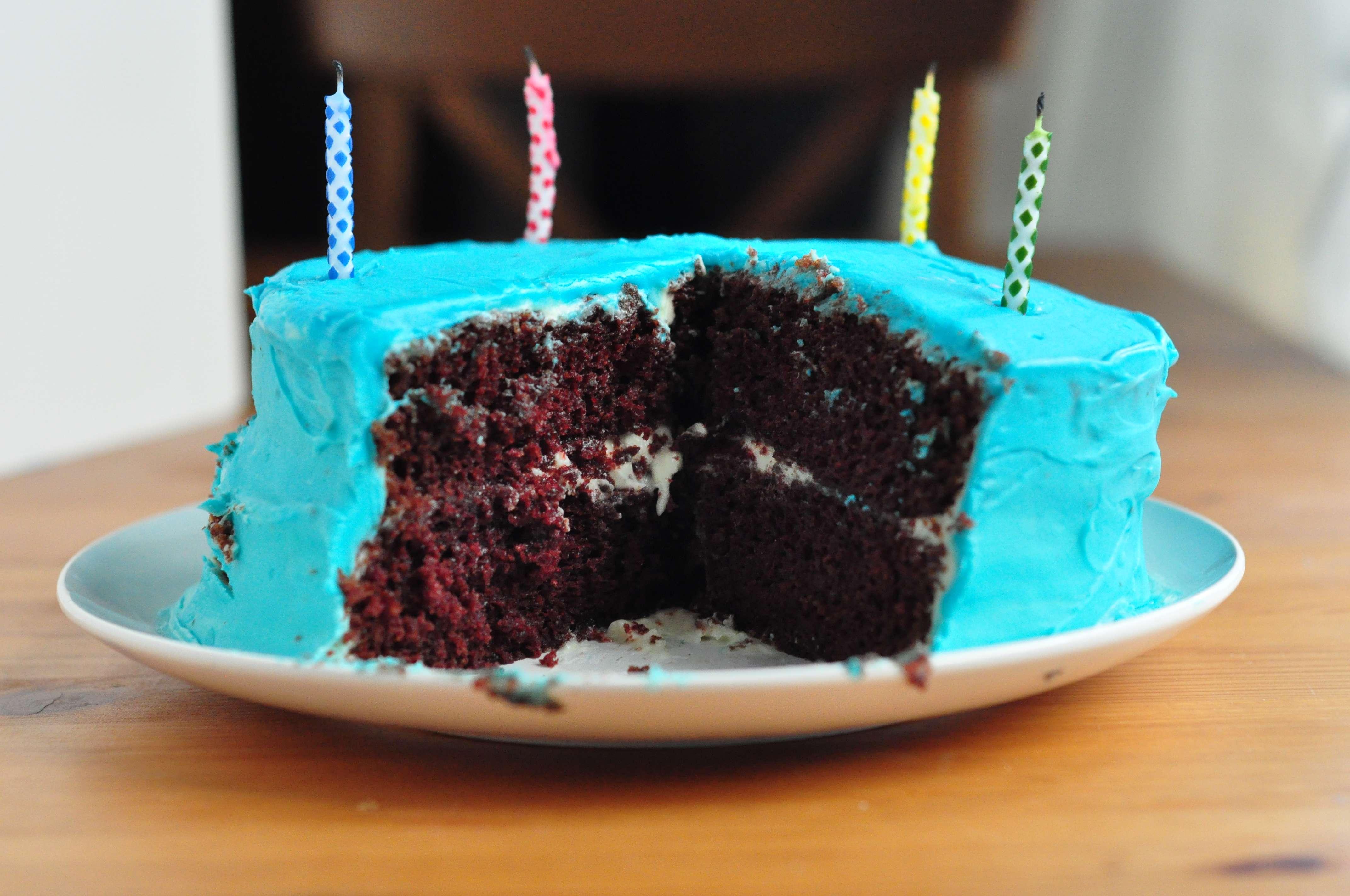 Blue Velvet Cake Life In Limbo