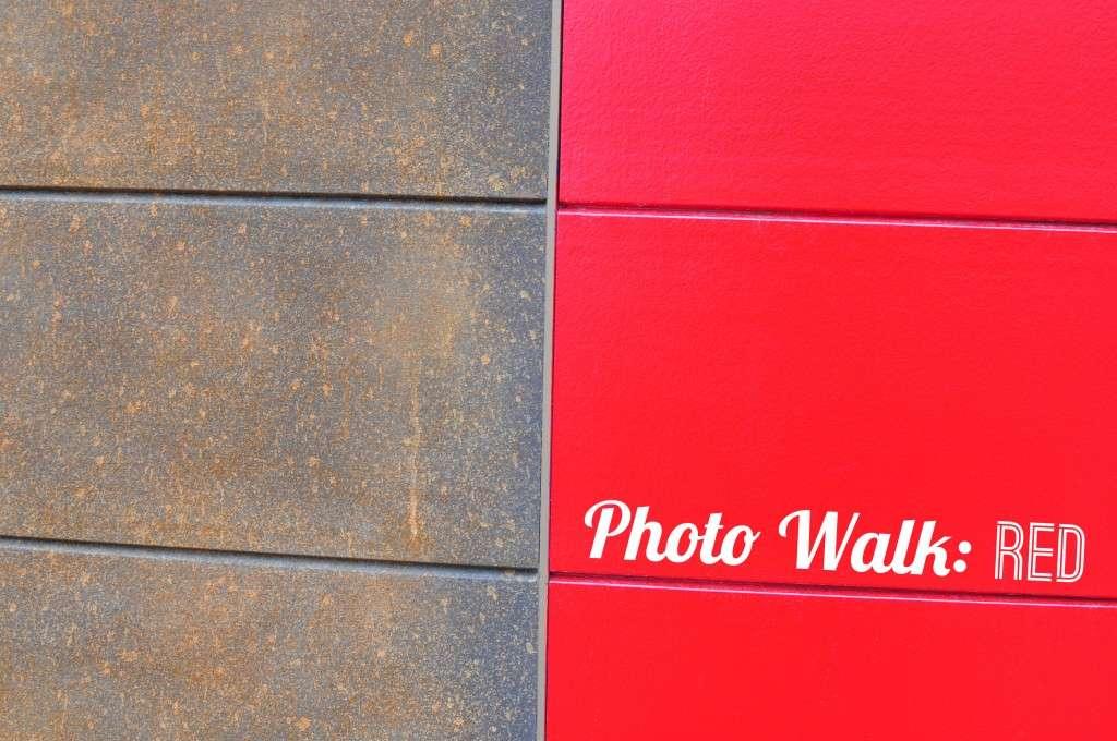 Photo Walk Red