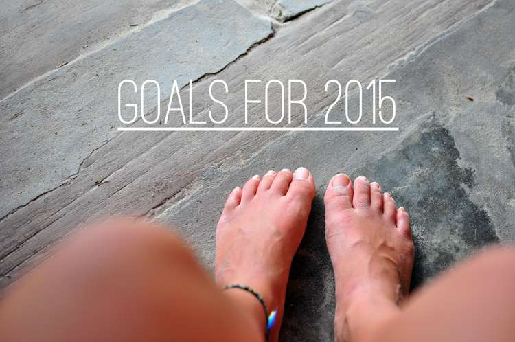 Goals for 2015 >> Life In Limbo