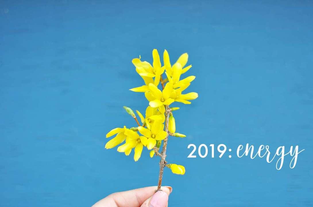 2019: Energy >> Life In Limbo