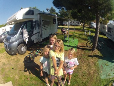 cadiz campsite with kia and rana 4