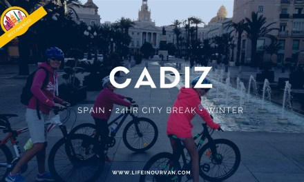 Finally LifeinourVan manage Cadiz by ferry…and it was worth every minute of the wait!