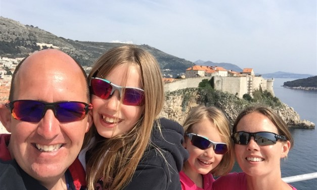 Dragging ourselves away from Dubrovnik… great last day visiting Fort Loverijenac