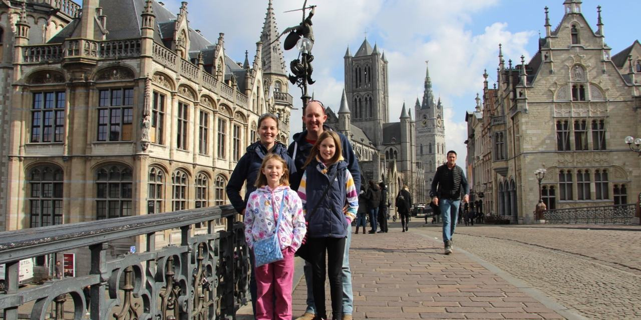 Glorious Ghent hits the perfect note for a family visit!