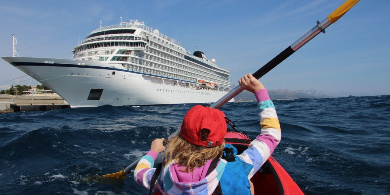 Finding Family Adventures in Croatia : Sea Kayaking & Cliff Jumping in Split