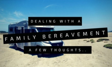 England | Dealing with an unexpected family bereavement that takes us back to the UK