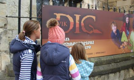 Getting In Touch With Our Inner Vikings & Archaeologists in York!