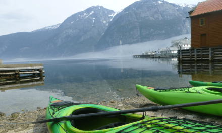 The Ultimate Sea Kayaking Experience in Eidfjord Norway