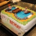Aufenfeld   Celebrating  Lottie's Birthday with a Cake!