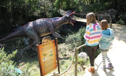 Taking a trip back in time for a Roadschooling opportunity at the Dinopark in Croatia