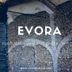 Visiting the unusual Bone Chapel at Evora in Alentejo, Portugal